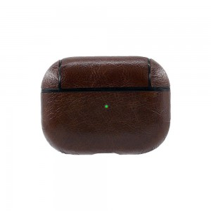 TUFF-LUV Apple Airpods Pro Leather Case - Vintage Brown