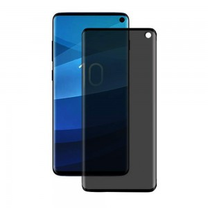 TUFF-LUV Privacy Shield Full Screen Tempered Glass for Samsung S10 Plus