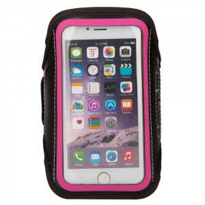 TUFF-LUV Go-Fit adjustable Armband for up to 4.7 Smartphones   - Pink
