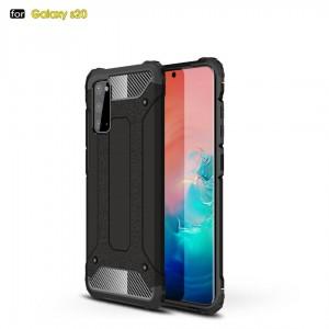 TUFF-LUV Rugged Armour case for  Samsung Galaxy S20 / 5G Plus  - Black
