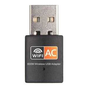 TUFF-LUV 600M High Speed 2.4G / 5G USB wireless Wifi Receiver dongle