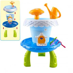 Jeronimo - DIY Garden House Play Set -Blue with li