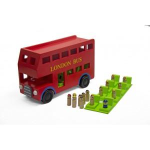 Jeronimo - Wooden London Bus