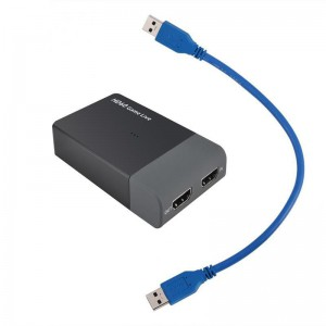 EZCAP 261M USB 3.0 Full HD Game Capture & Live Video Streaming Card with Mic