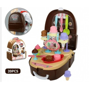 Jeronimo Backpack Play Case - Ice Cream