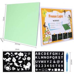 Glow In The Dark Neon Doodle Board