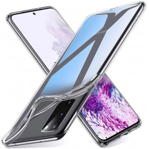 TUFF-LUV Protective Clear Gel case for Samsung Galaxy A41 - Clear