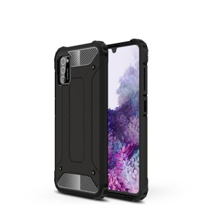 TUFF-LUV Rugged Armour Case for Samsung Galaxy A41 - Black