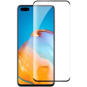 TUFF-LUV 3D Tempered Glass Full Screen Protection Huawei P40 Pro - Clear