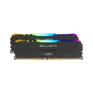 Ballistix RGB 64GBKit (2x32GB) DDR4 3200MHz Desktop Gaming Memory - Black