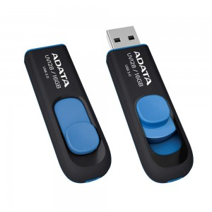 AData UV128 16GB USB 3.0 Flash Drive - Blue