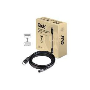 Club 3D DisplayPort 1.4 Extension Cable 8K60Hz - 3m