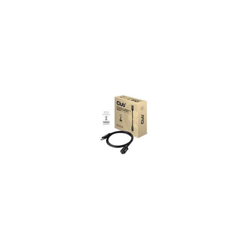 Club 3D Mini DisplayPort 1.4 to DisplayPort Extension Cable 8K60Hz - 1m