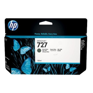 HP 727 130-ml Matte Black DesignJet Ink Cartridge For T920 and T1500