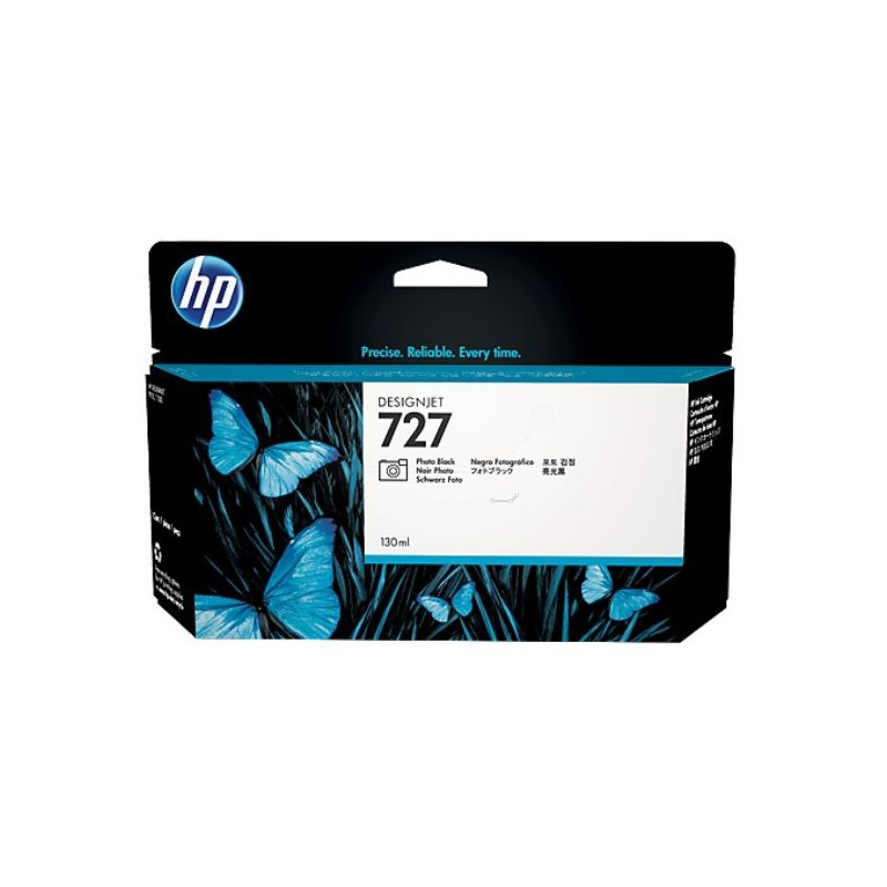 HP 727 130-ml Photo Black DesignJet Ink Cartridge For T920 and T1500
