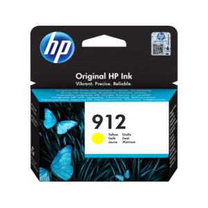 HP # 912 Yellow Ink Cartridge For Officejet Pro 8000 Series
