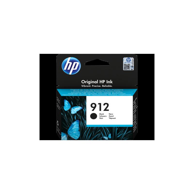 HP # 912 Black Ink Cartridge For Officejet Pro 8000 Series