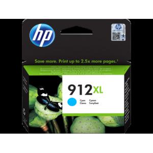 HP 912XL High Yield Cyan Ink Cartridge For Officejet Pro 8000 Series