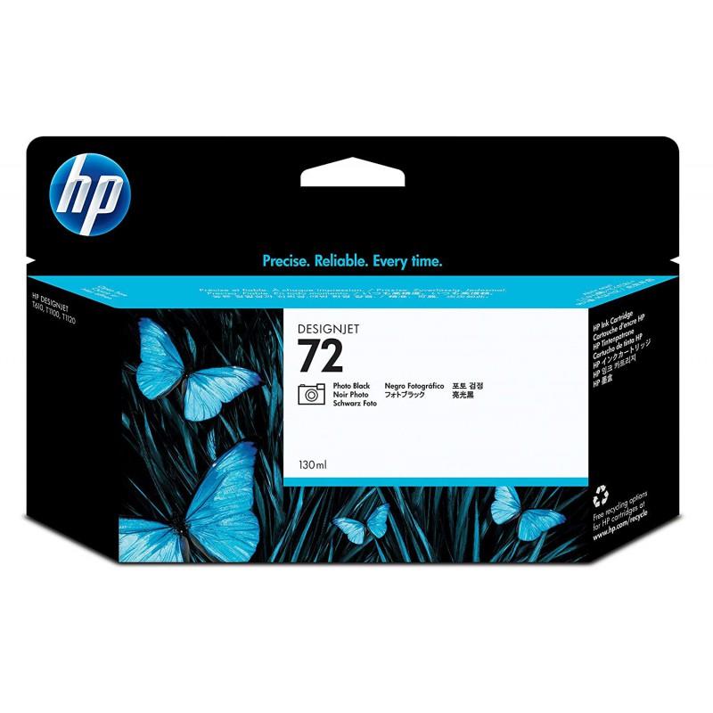 HP 72 130-ml Photo Black DesignJet Ink Cartridge