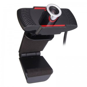 720P HD Webcam with Built-in Mic