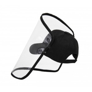 Black Kiddies Cap with Visor