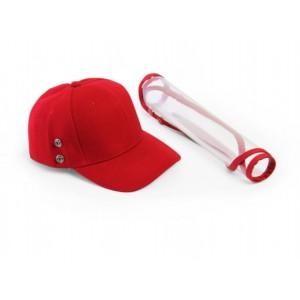 Red Kiddies Cap with Visor