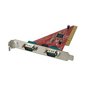 Lindy 2-Port Serial PCI Card