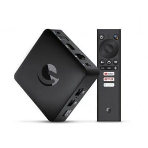 EMATIC AGT419 Quad Core 4K Ultra HD Android TV Box