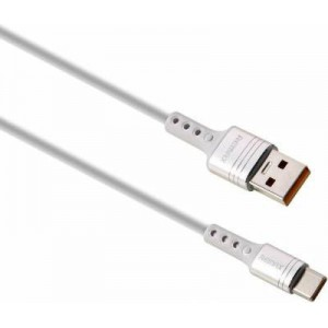 Remax 1m Chaining Series 5A USB to Type-C - White