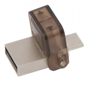 Kingston Digital 16GB Data Traveler MicroDuo USB 2.0 micro USB OTG
