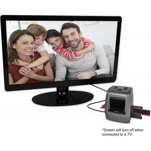 Magnasonic Film Scanner 22MP (convert 35mm/126KPK/110/Super 8 Films, slides, negatives into digital format)