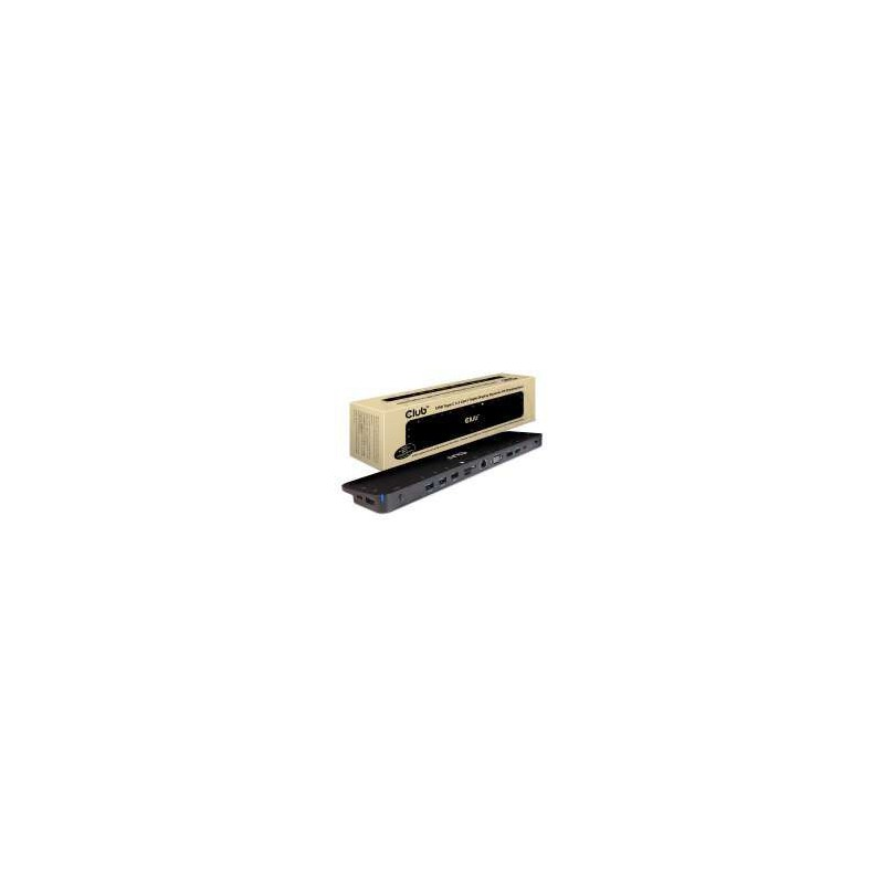 Club 3D USB Type C 3.2 Gen1 Triple Display Dynamic PD Charging Dock