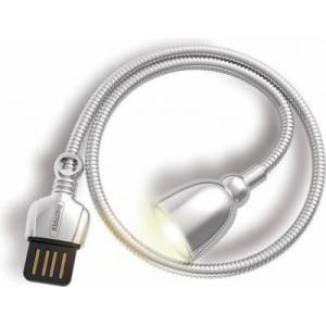 Remax Star Series USB LED Hose Lamp - Silver
