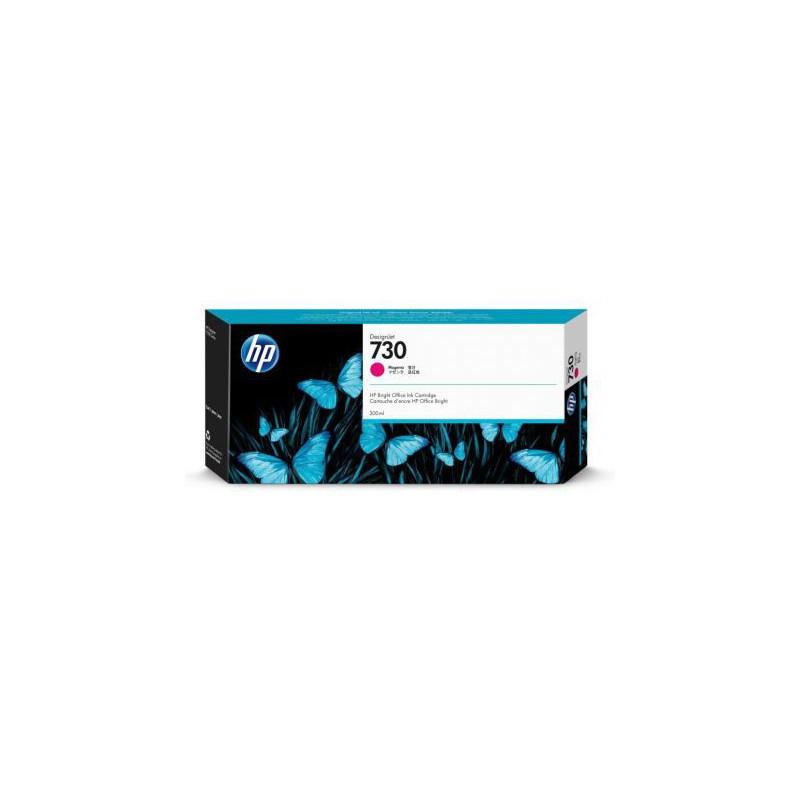 HP 730 Magenta Inkjet Cartridge 300ml For DJ T1700 T1700DR