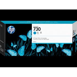 HP 730 Cyan Inkjet Cartridge 300ml For DJ T1700 T1700DR