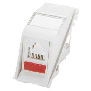 Euromod II Module CAT6 UTP Datagate/ 568A/B - 25 X 50mm White