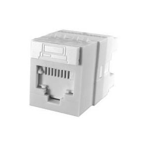 Molex PowerCat 6 DataGate jack/ 568A/B UTP - White