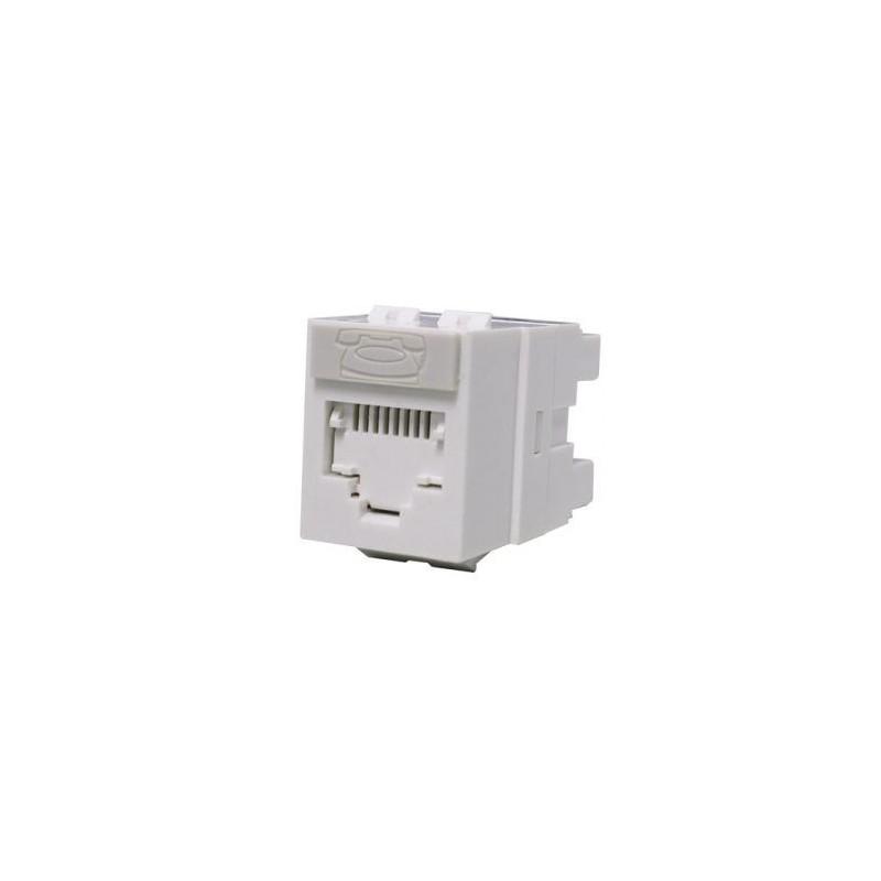 PowerCat 5e DataGate jack/ 568A/B UTP - White