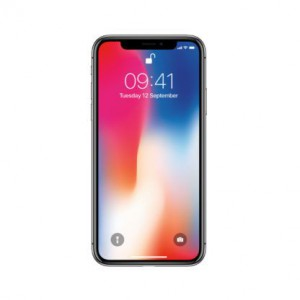 Pre-Owned Apple iPhone X A1901 with Finger Sensor 3GB RAM 64GB ROM - Space Grey