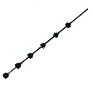 Nemtek 6 Line Round Bar Black
