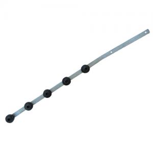 Nemtek 5 Line Flat Bar Angle Galvanised