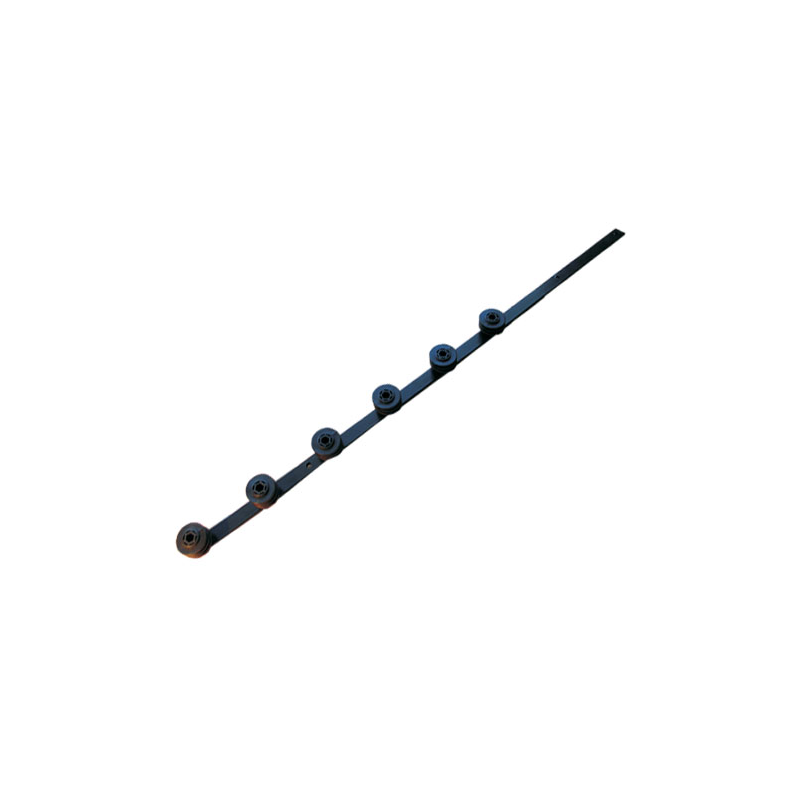 Nemtek 6 Line Flat Bar Black