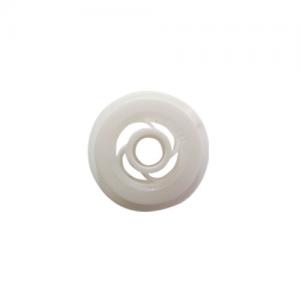 Nemtek Round Bar Insulator Bobbin White