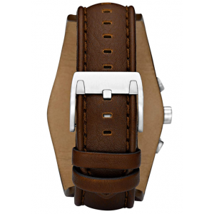 Fossil Men's Coachman Quartz Stainless Steel and Leather Watch - Brown