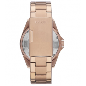 Fossil Women's Riley Quartz Stainless Steel Multifunction Glitz Watch - Rose Gold