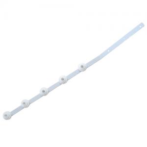 Nemtek 5 Line Flat Bar Angle White