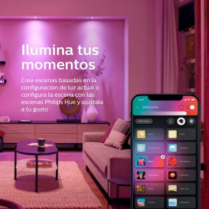 Philips Hue White and Color LED Smart Button Starter Kit (Works with Alexa, Apple HomeKit & Google Assistant)