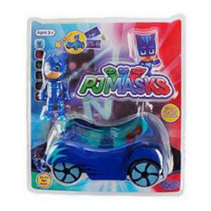 PJ Mask Figurines and Vehicle - Catboy