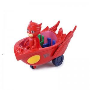 PJ Mask Figurines and Vehicle - Owlette