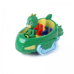 PJ Mask Figurines and Vehicle - Gekko